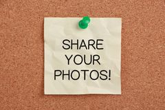 Share Your Photos Stock Photos