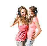 Share your tune... Royalty Free Stock Photography