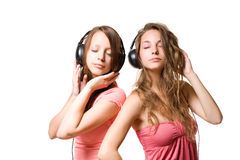 Share your tune... Royalty Free Stock Photos