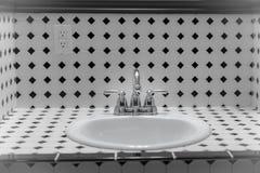 Shared Bathroom. Camas Hotel in Camas, Washington (just outside Portland, OR royalty free stock photo
