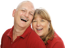 Shared Laughter Royalty Free Stock Images