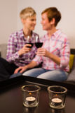 Shared a moment Stock Photo