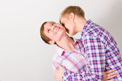 Shared a moment Royalty Free Stock Photography
