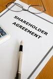 Shareholder Agreement Royalty Free Stock Image