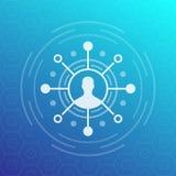 Shareholder, investor icon. Eps 10 file, easy to edit stock illustration