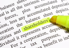 Shareholders Stock Images