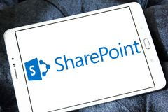 SharePoint logo obraz royalty free