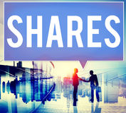 Shares Shareholder Asset Contribution Proportion Concept Stock Photography