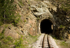 Shargan Eight tunnel Royalty Free Stock Images