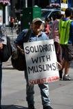 Sharia Protest Stock Photos