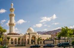 Sharif Hussein Bin Ali Mosque in Aqaba Royalty Free Stock Photography