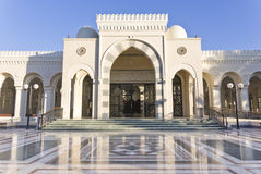 Sharif Hussein Bin Ali mosque. In Aqaba, Jordan royalty free stock image