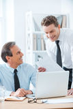 Sharing business ideas. Royalty Free Stock Image