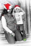 Sharing Christmas royalty free stock photos
