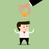Sharing Ideas.Business concept. Sharing Ideas. a Business concept Royalty Free Stock Image
