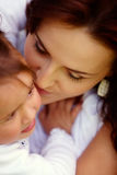 Sharing a moment Royalty Free Stock Photo