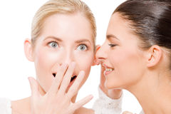 Sharing secrets Royalty Free Stock Photo