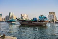 Sharja - puerto imagenes de archivo
