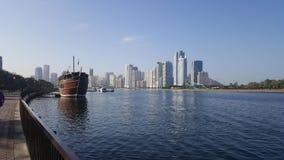 Sharja UAE arkivbild