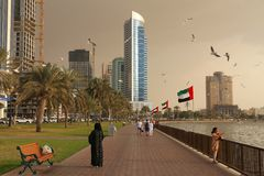 Sharjah Arkivbilder
