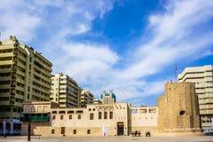 Sharjah Al Hisn Fort fotografia stock libera da diritti