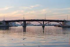 Sharjah bro Royaltyfri Fotografi
