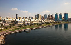 Sharjah Central Souq. Royalty Free Stock Photo