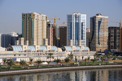 Sharjah City. United Arab Emirates Stock Photography