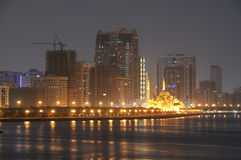 Sharjah City Skyline Royalty Free Stock Image