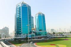 Sharjah City skyline - Emirates Stock Image
