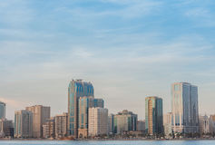 Sharjah city skyline Stock Photography