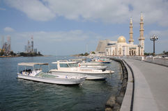 Sharjah Creek Royalty Free Stock Images