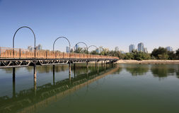 Sharjah Creek Royalty Free Stock Photo