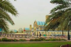 Sharjah, Emirati Arabi Uniti Il Souk centrale fotografia stock libera da diritti