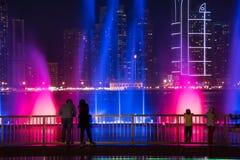 Sharjah fontanna Zdjęcie Royalty Free
