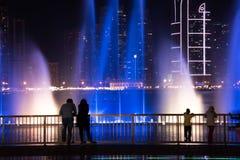 Sharjah Fountain Stock Photo