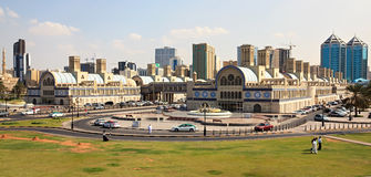 Sharjah Gold Souq. UAE. Shopping entertaining complex Royalty Free Stock Photos