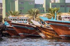 Sharjah - haven stock foto's