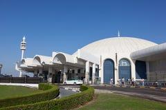 Sharjah internationell flygplats Royaltyfri Bild