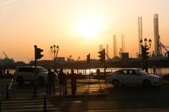 Sharjah miasto - emiraty Zdjęcie Royalty Free