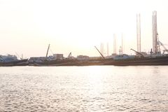 Sharjah miasto - emiraty Fotografia Stock