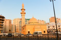 Sharjah miasto - emiraty Fotografia Royalty Free
