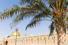 Sharjah miasto - emiraty Zdjęcia Royalty Free