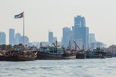 Sharjah - port Royalty Free Stock Image
