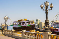 Sharjah - port Stock Photo