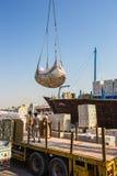 Sharjah - port Royalty Free Stock Photos