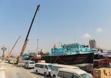 Sharjah port Stock Photo
