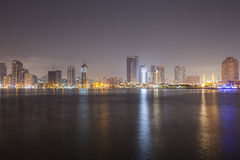 Sharjah skyline Stock Photography