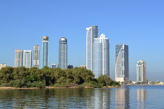 Sharjah Skyscrapers Royalty Free Stock Photography