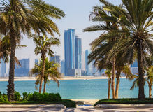 Sharjah - third largest and most populous city in UAE Royalty Free Stock Photo